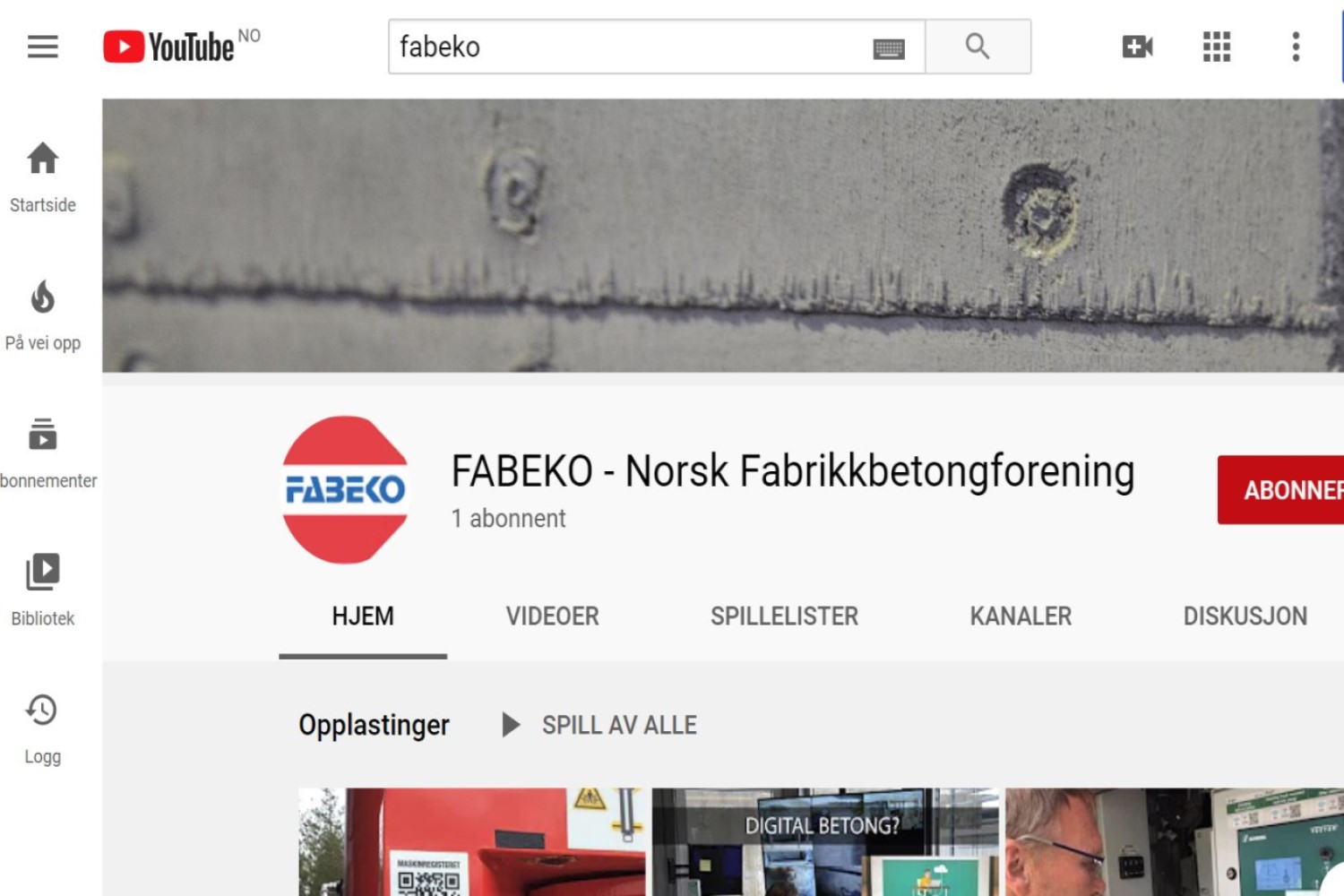FABEKO YouTube