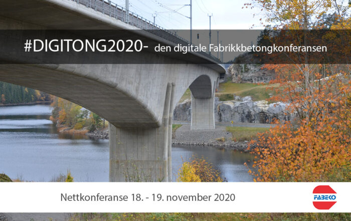 #Digitong2020 Fabrikkbetongkonferansen