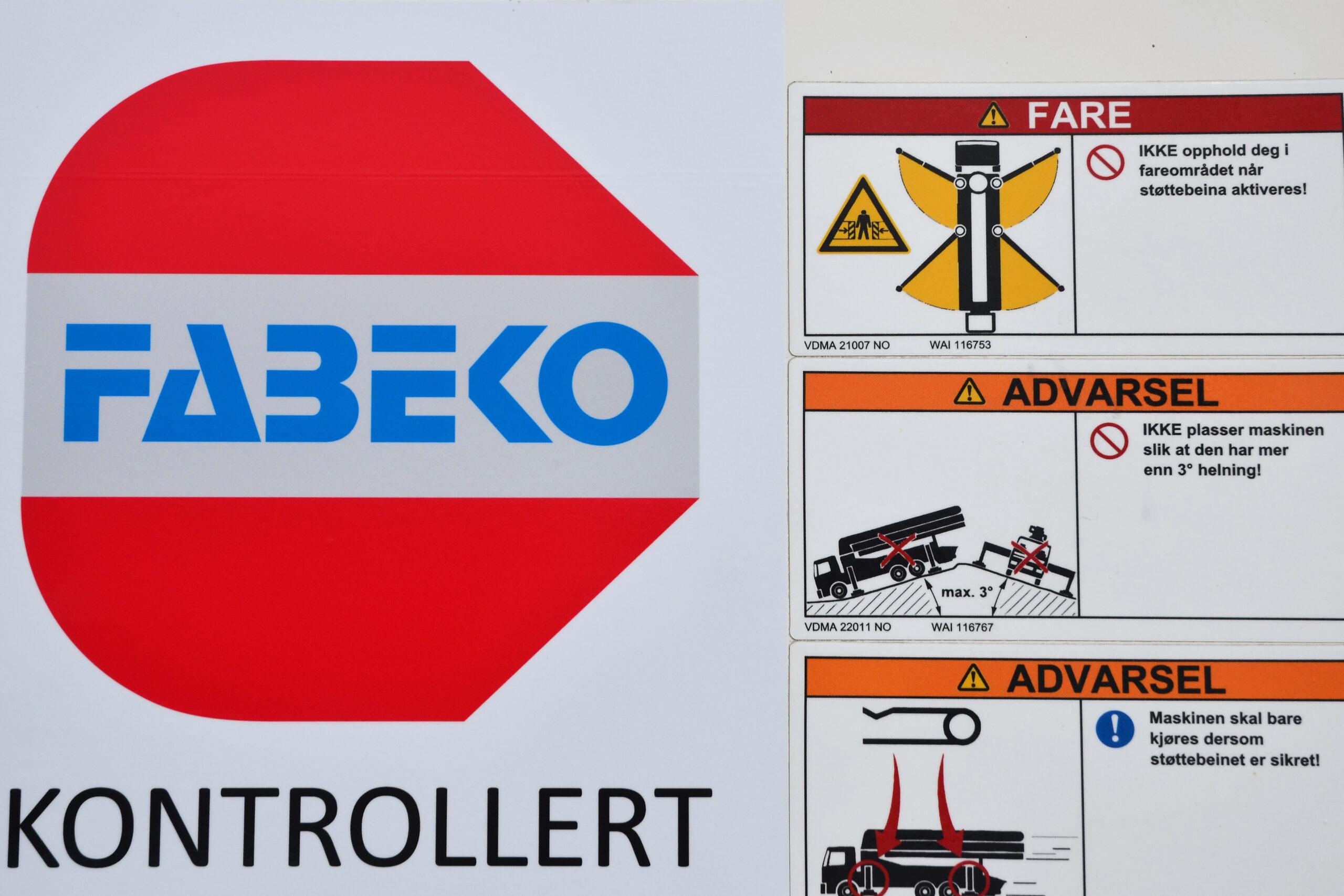 FABEKO kontrollert