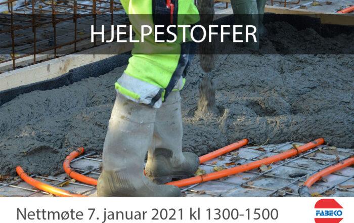 Hjelpestoffer betong