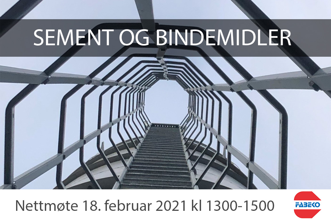 Sement og bindemidler