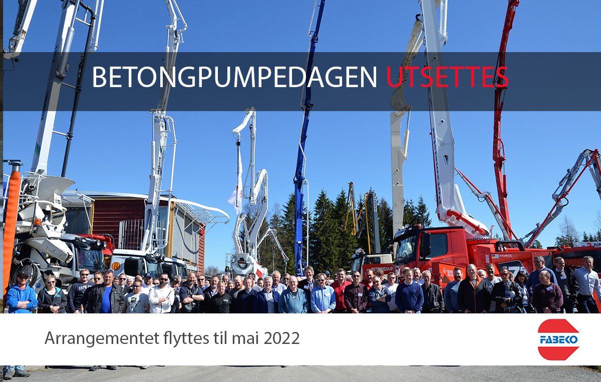 Pumpedagen utsettes til 2022