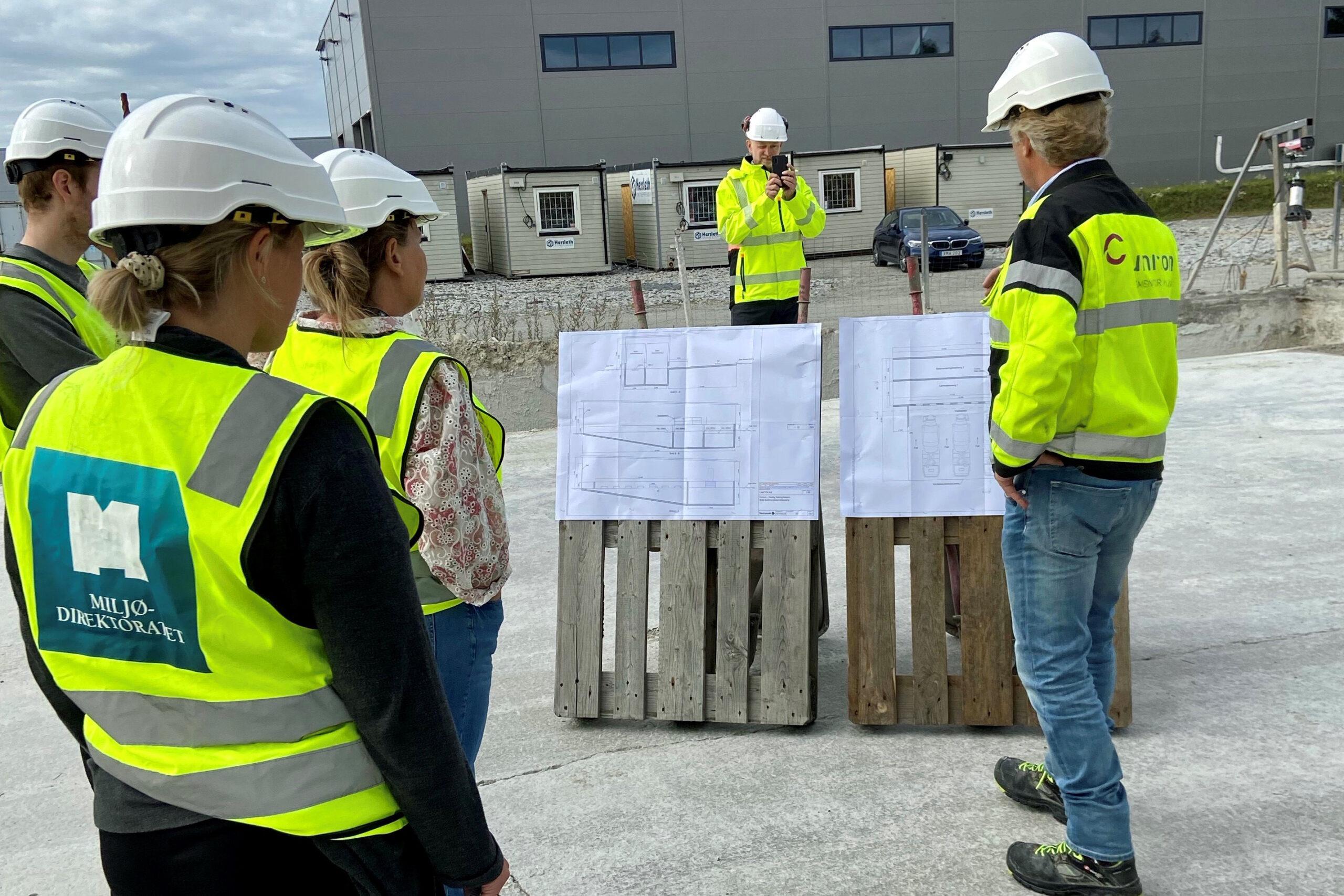 Miljødirektoratet besøker betongfabrikker